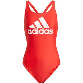adidas SH3.RO BOS Swimsuit Women vidid red/white
